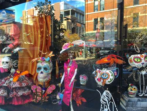 Denver this week October 7-14, 2016 Oxford Hotel Day of the Deadr
