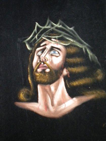 Velvet Jesus - not the only interpretation you'll find of him on Colfax. (Photo: DenverThread)