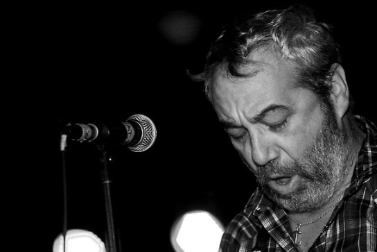 Mike Watt and The Missingmen, live at Larimer Lounge, April, 2011 (Photo: Mike McGrath)