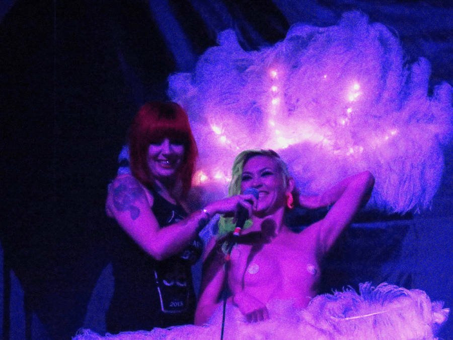 Suicide Girls led a steamed up crowd across many, many pop cultural icons last Saturday night. (Photo: DenverThread)