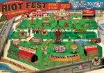 Riot Fest Denver Map