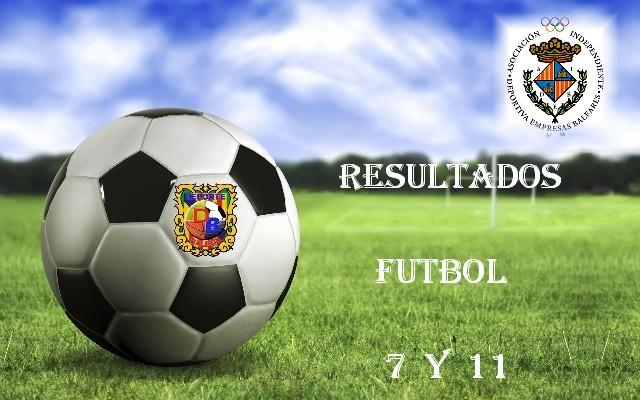 Resultados Fútbol 7
