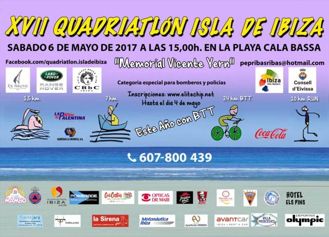 Poster Quadriatlon