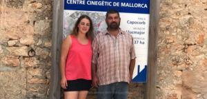 Xisca Capó  y Pedro Bestard