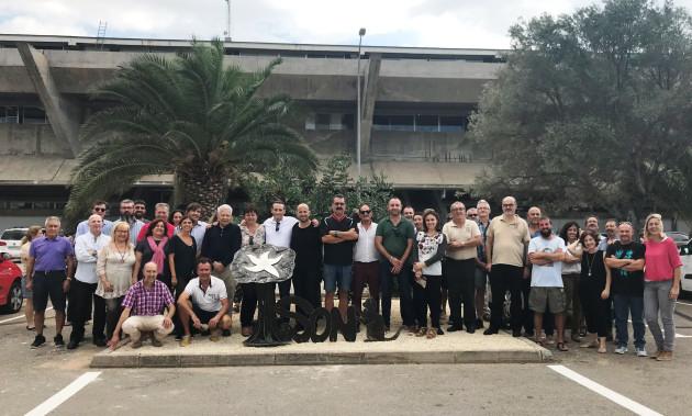 Grup de treballadors  Joan Ordinas