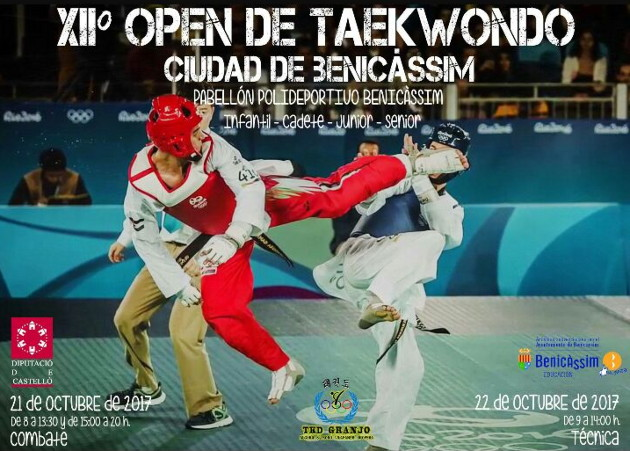 XII Open de Taekwondo Ciudad de Benicàssim