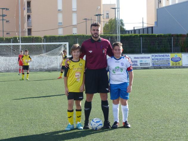 Arbitro y capitanes
