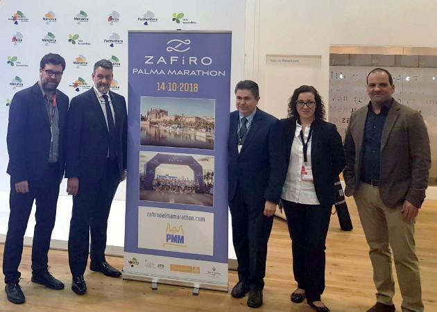 Presentación Zafiro Palma Marathon