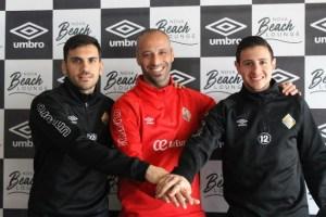Diego Quintela, Vadillo y Nico Sarmiento 2