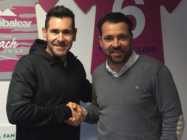 Marcel Ruiz, de BMTherapy, y José Tirado