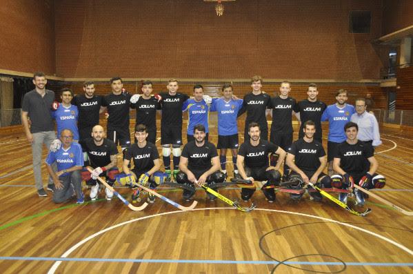 Selección Española hockey patines