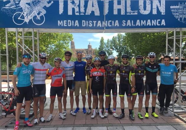 Triatlón olímpico, en Salamanca