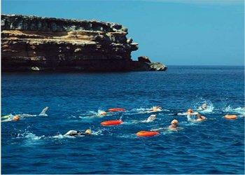 Volta a Formentera nedant contra la Fibrosis Quística II