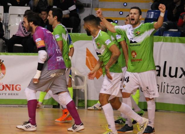 Palma futsal VS Industrias Santa Coloma