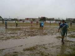 En este terreno jugaron Resistencia Central y Huracán de Goya (Foto diario Norte)