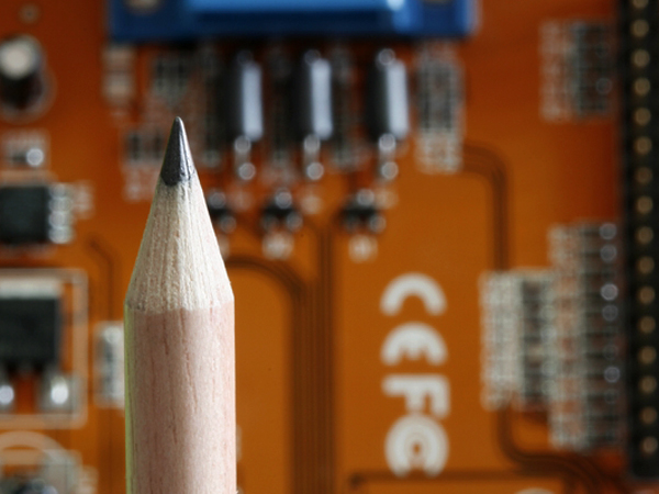Pencil and MOBO