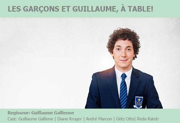 Les garcons et guillaume table de protagonistende - Guillaume les garcons a table streaming ...