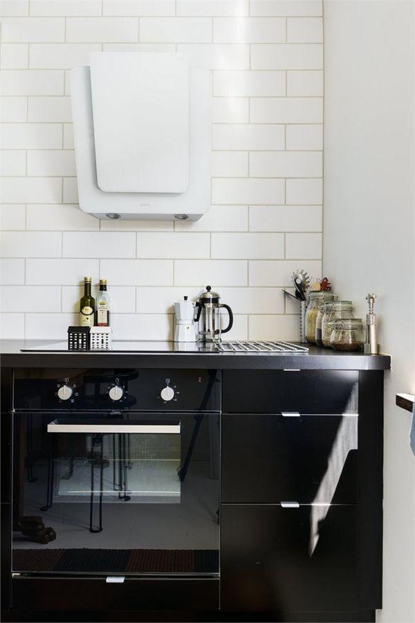 Cocinas en blanco y negro depto51 blog depto51 blog - Cocina en blanco y negro ...