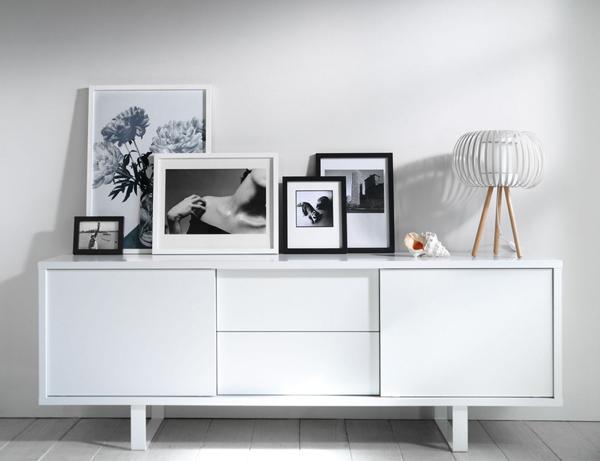 Decorar con cuadros en blanco y negro depto51 blog - Cuadros modernos blanco y negro ...