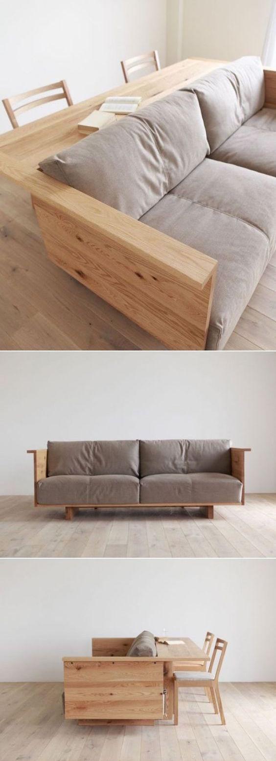 8 muebles funcionales ideales para espacios peque os for Muebles la favorita
