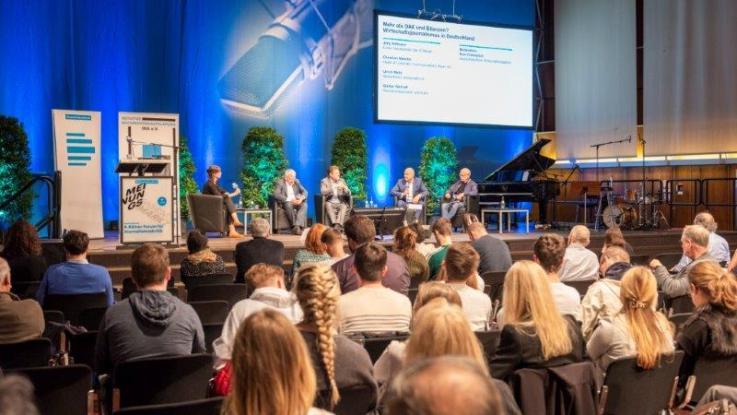 Letztjähriges Forum (Foto: Dlf/Jann Höfer)