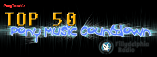 Top 50 Pony Music Countdown by PonyToast.