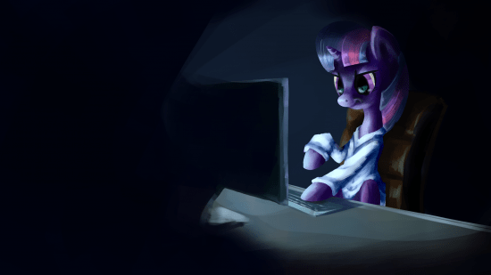 Twilight doing research by St-Timid