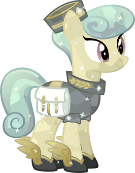 Crystal Messenger pony Isis by HampshireukBrony