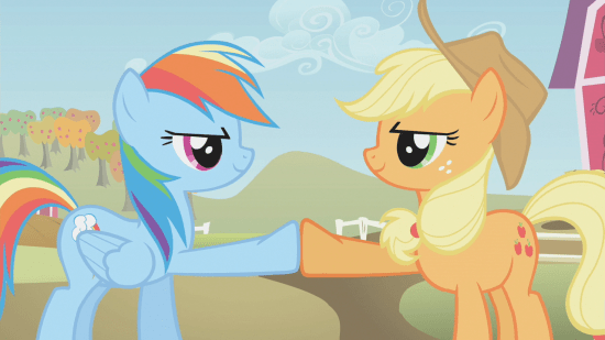 Applejack_&_Rainbow_brohoof_S1E13