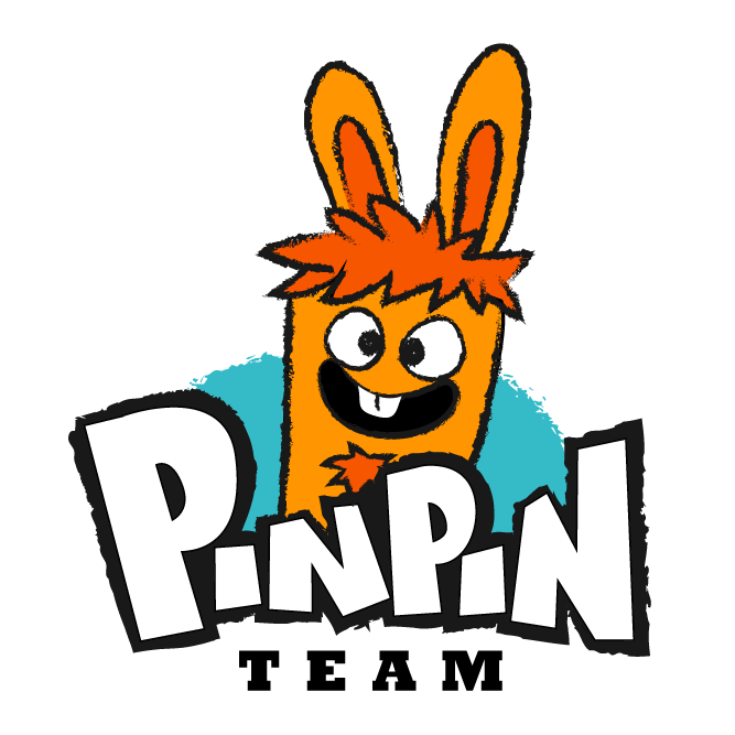 Pinpin Team change de logo