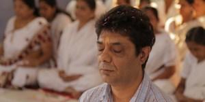 Janos Orsos meditierend