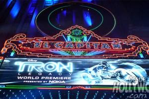Premiere Tron Legacy en Los Angeles