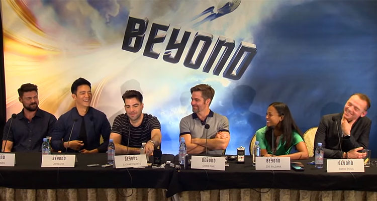 STAR TREK BEYOND Press Conference