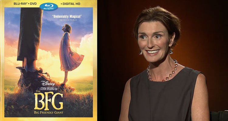 THE BFG Blu-ray Interview with Lucy Dahl