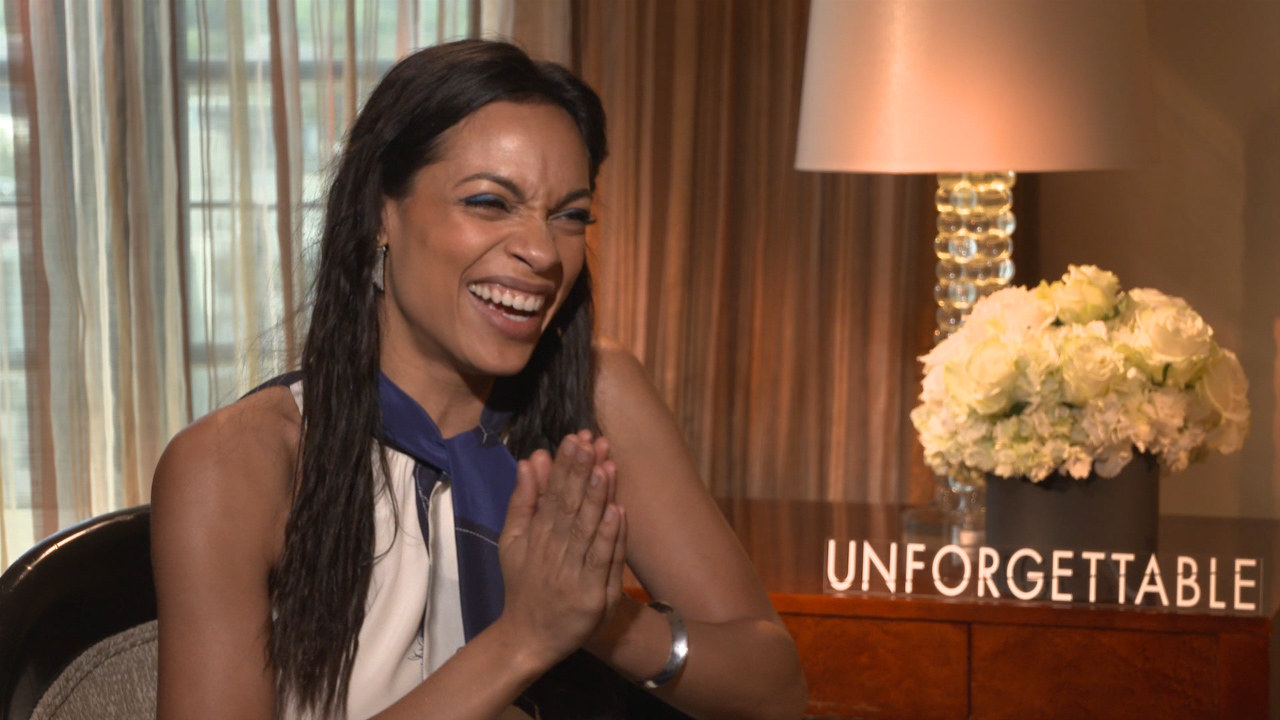 Rosario Dawson Talks UNFORGETTABLE