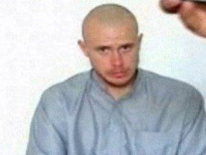 Sargento Bowe Bergdahl antes de ser liberado