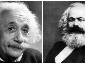 Albert Einstein y Karl Marx: hombres que revolucionaron al mundo