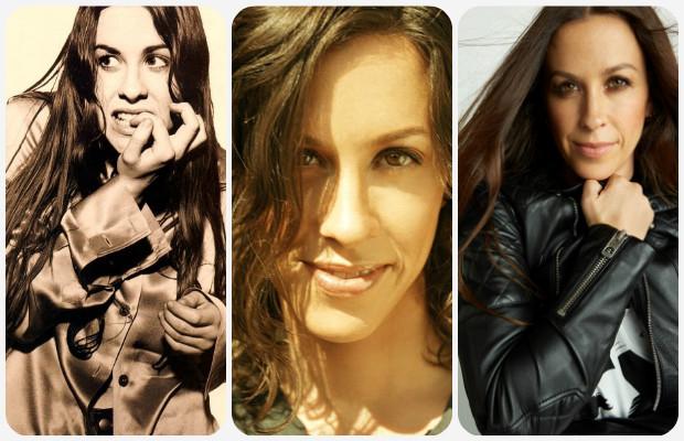 Alanis Morissette collage