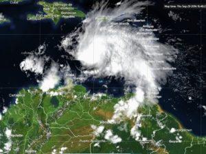 Matthew se convirtió en huracán