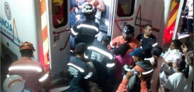 autoridades evacuan materno