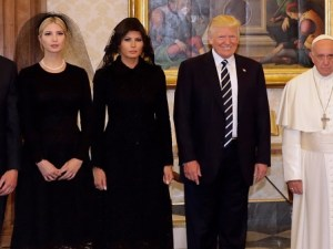 Papa Francisco y Donald Trump