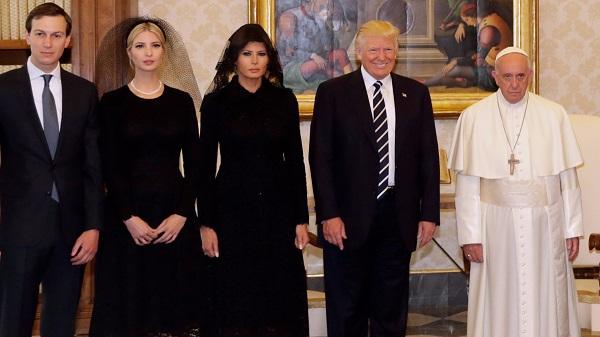 Papa Francisco y Donald Trump