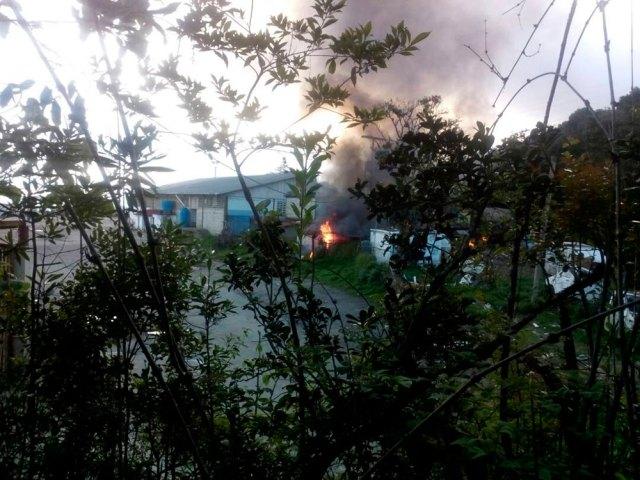 fachada inparques quemada