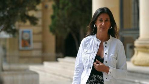 periodista maltesa