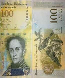 billete de 100 mil bs