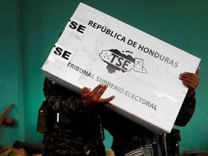 fraude en comicios de Honduras