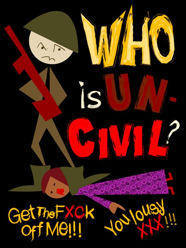 civility, political strategy, social movement