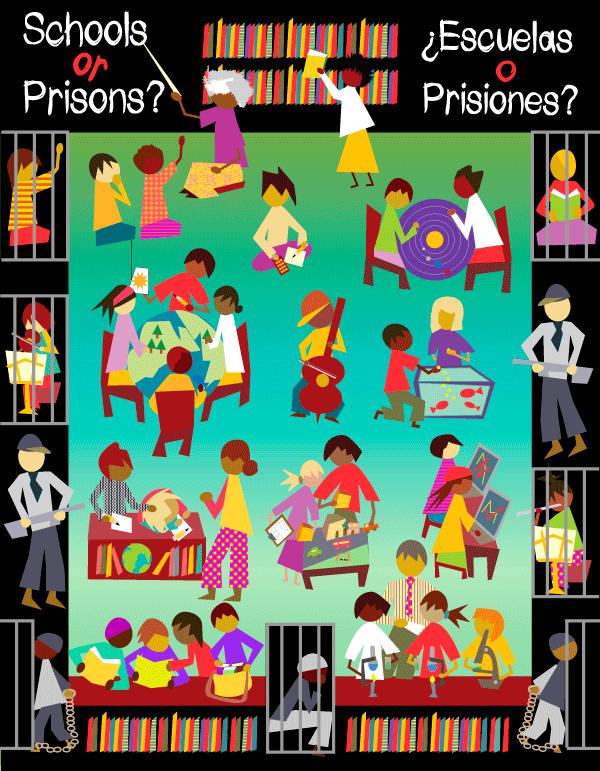 schools, education, prisons, school-prison pipeline, racism, class