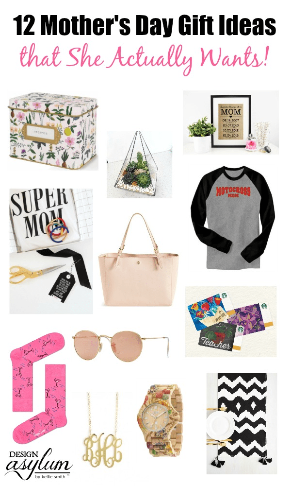 Searching for Mother's Day Gift Ideas? Take a look at these 12 Mother's Day Gift Ideas that She Actually Wants via Design Asylum Blog!
