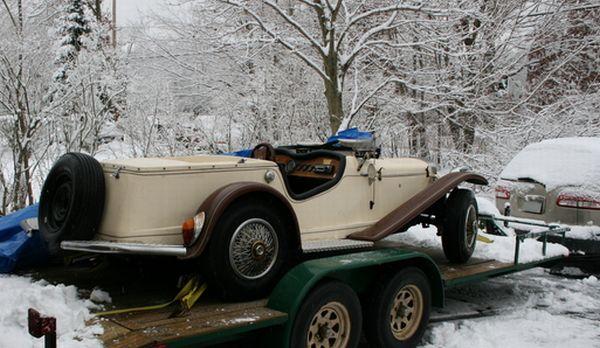 1929 Mercedes Gazelle SSK replica